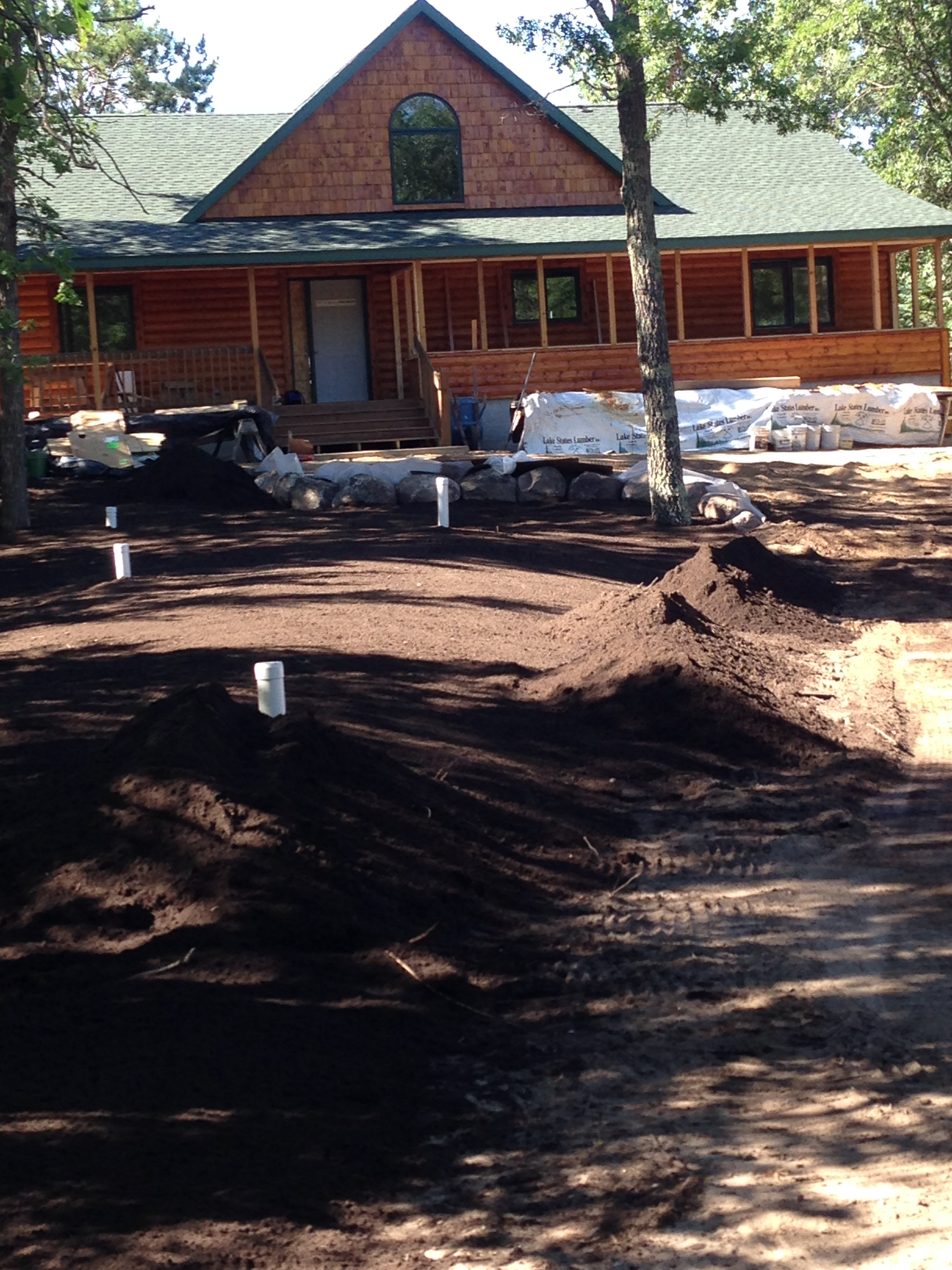 septic system excavation